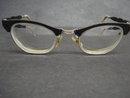 Vintage Eyeglasses Cat Eye Art Deco Style
