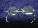 Antique Eyeglasses Art Deco Style