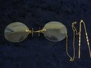 Museum Quality Victorian Prince Nez Eyeglasses