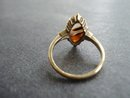 10K Gold Ring Ribbon Agate