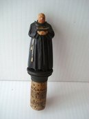Figural Anri Bottle Stopper Cork
