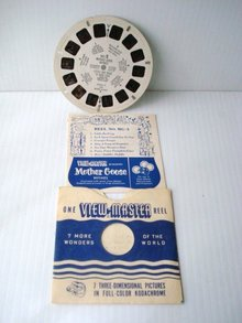 View Master Reel MG-2 Mother Goose Rhymes