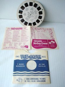 View Master Reel Mg-3 Mother Goose Rhymes