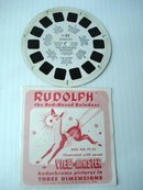 View Master Reel FT-25 Rudolph
