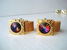 Chunky Opulent Cuff Links