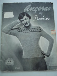 Angora by Beehive Knitting Book