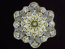Beautiful Vintage Lace Doily Hand Crochet Lace
