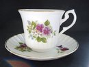 Teacup and saucer by Newhall England