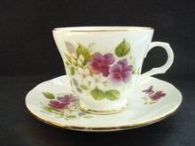 Teacup and Saucer by Sadler England