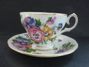 Teacup and Saucer Set by Queen Anne England