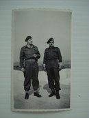 At Vimy 1944 Small Real Photo
