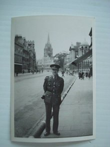 War Time Photo Oxford Aug / 1942