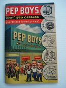 1960 Catalog Pep Boys