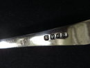 Silver Condiment Fork Long Handle