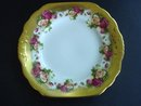 Cake Plate by Royal Chelsea Golden Rose