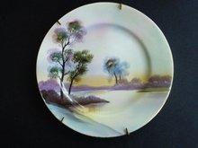 Noritake Plate Hand Painted