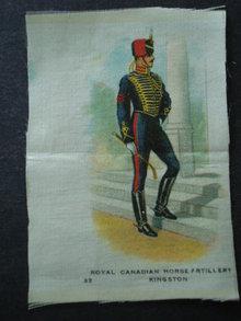 Cigarettes Silk Canadian Horse Artilery