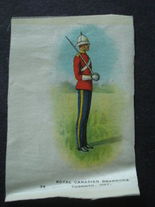 Cigarettes Silk Royal Canadian Dragoons