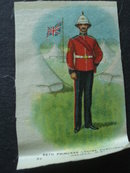 Cigarettes Silk 66th Princess Louise Fusiliers