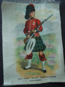 Cigarettes Silk 5th Regt Royal Highlanders