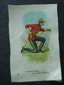 Cigarettes Silk North West Mounted Police