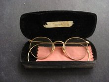 Granny Eye Glasses and Case