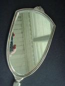 Dresser Set Mirror and Brush English Sterling