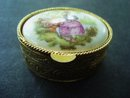 Vintage Pill Box by Limoges