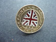 WWI Service At the Front CEF Pin