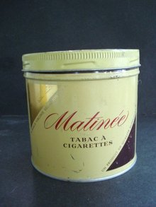 Matinee Tobacco Tin Box