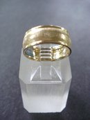 Wide Wedding Band Gold Filled