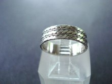 Glorious  Sterling Silver Band Ring