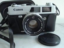 Canon Camera QL SE 45mm Leather Case