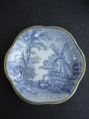 Royal Worcester Dish Windmill