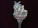 Vintage Souvenir Spoon El Salvador