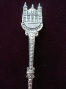 Vintage Souvenir Spoon Mexico City
