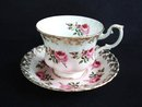 Teacup Set Royal Albert Tiny Roses