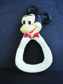 Mickey Mouse Teething Ring