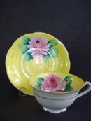 Wonderful Vintage Cup and Saucer Hand Decorated