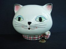 String Holder 1958 Holt Howard COZY KITTEN