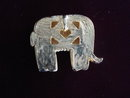 Lovely Pendant Ivory Colour Elephant