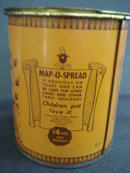 Map-O-Spread Tin