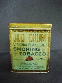 Old Chum Tobacco Tin