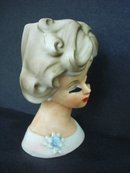 Exquisite Original Vintage Head Vase