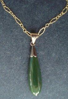 Charming Vintage Jade Pendant