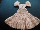 Lovely Vintage Doll's Dress