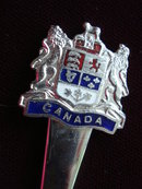 Souvenir Spoon Canada