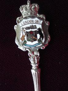 Souvenir Spoon London Ontario