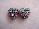 Special Antique Mosaic Earrings Clip Style