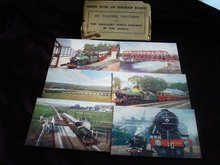 6 Colored Postcards  of Smallest Railway